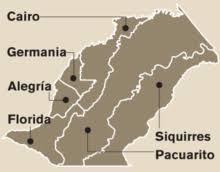 división administrativa de siquirres