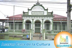 Acera Casa de la Cultura 0