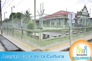 Acera Casa de la Cultura 1