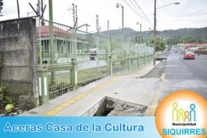 Acera Casa de la Cultura 2