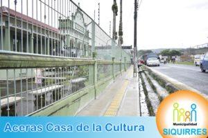 Acera Casa de la Cultura 3