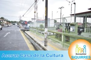 Acera Casa de la Cultura 4