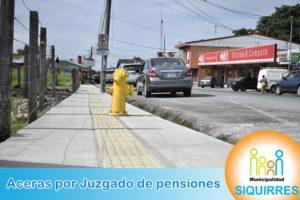 Acera Juzgado de pensiones 3