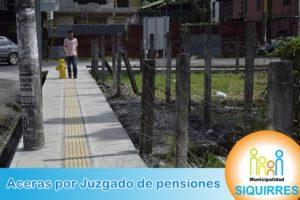 Acera Juzgado de pensiones 5