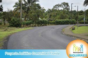 Proyecto Asfáltico Comunidad Florida 1