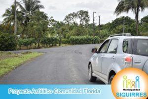 Proyecto Asfáltico Comunidad Florida 3