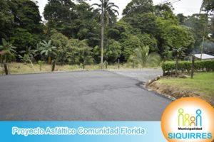 Proyecto Asfáltico Comunidad Florida 7