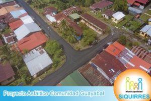 Proyecto Asfáltico Comunidad Guayabal 1