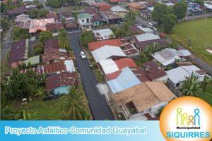 Proyecto Asfáltico Comunidad Guayabal 2