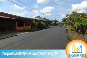 Proyecto Asfáltico Comunidad Guayabal 3