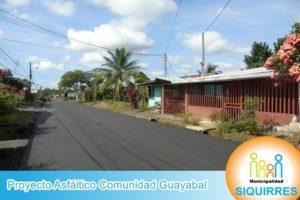 Proyecto Asfáltico Comunidad Guayabal 4