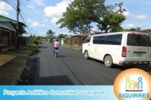 Proyecto Asfáltico Comunidad Guayabal 5