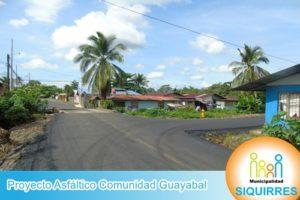 Proyecto Asfáltico Comunidad Guayabal 6