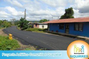 Proyecto Asfáltico Comunidad Guayabal 7