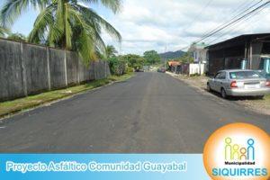 Proyecto Asfáltico Comunidad Guayabal 8