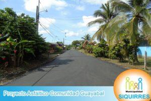 Proyecto Asfáltico Comunidad Guayabal 9