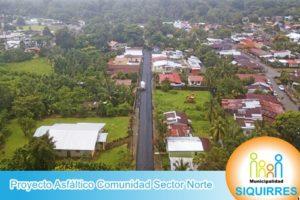 Proyecto Asfáltico Comunidad Sector Norte 1