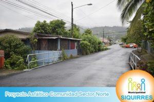 Proyecto Asfáltico Comunidad Sector Norte 3