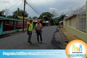Proyecto Asfáltico Comunidad Sector Norte 4