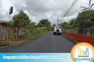 Proyecto Asfáltico Comunidad Sector Norte 5