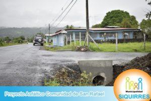 Proyecto Asfáltico Comunidad de San Rafael 3