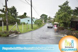 Proyecto Asfáltico Comunidad de San Rafael 4
