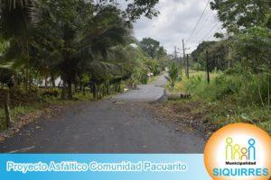 Proyecto Asfalto Comunidad Pacuarito 10