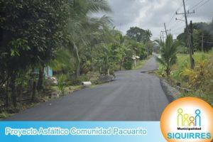 Proyecto Asfalto Comunidad Pacuarito 11