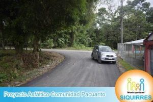 Proyecto Asfalto Comunidad Pacuarito 2