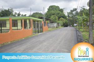 Proyecto Asfalto Comunidad Pacuarito 5