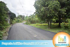 Proyecto Asfalto Comunidad Pacuarito 7