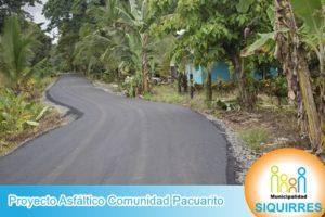 Proyecto Asfalto Comunidad Pacuarito 8