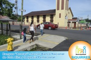Rampas Sector Iglesia Pentecostal 1