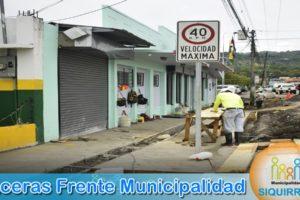 Aceras Frente Municipalidad 2
