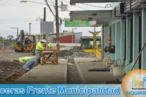Aceras Frente Municipalidad 3