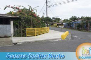 Aceras Sector Norte 1