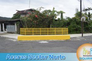 Aceras Sector Norte 2