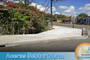 Aceras Sector Norte 4