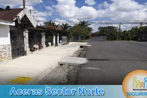 Aceras Sector Norte 6