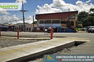 Rampas Sector Tribunales & Frente a Pizza Tovir3