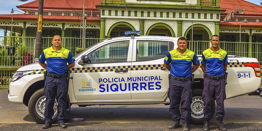 Siquirres inaugura su nueva Policía Municipal