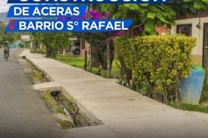 Aceras Barrio San Rafael 1
