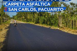 Alfaltado San Carlos Pacuarito 1