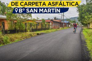 Asfaltado Barrio San Martin – La Urba 1