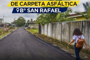 Asfaltado Barrio San Rafael – Calle Cummings 1