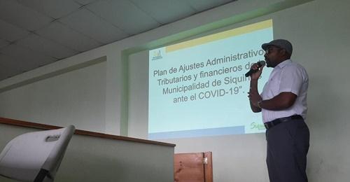 Alcalde de Siquirres presenta Plan de Alivio Fiscal contra el COVID-19