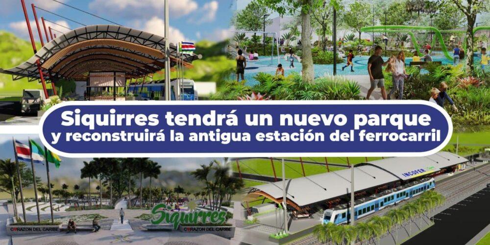 nuevo parque y estacion